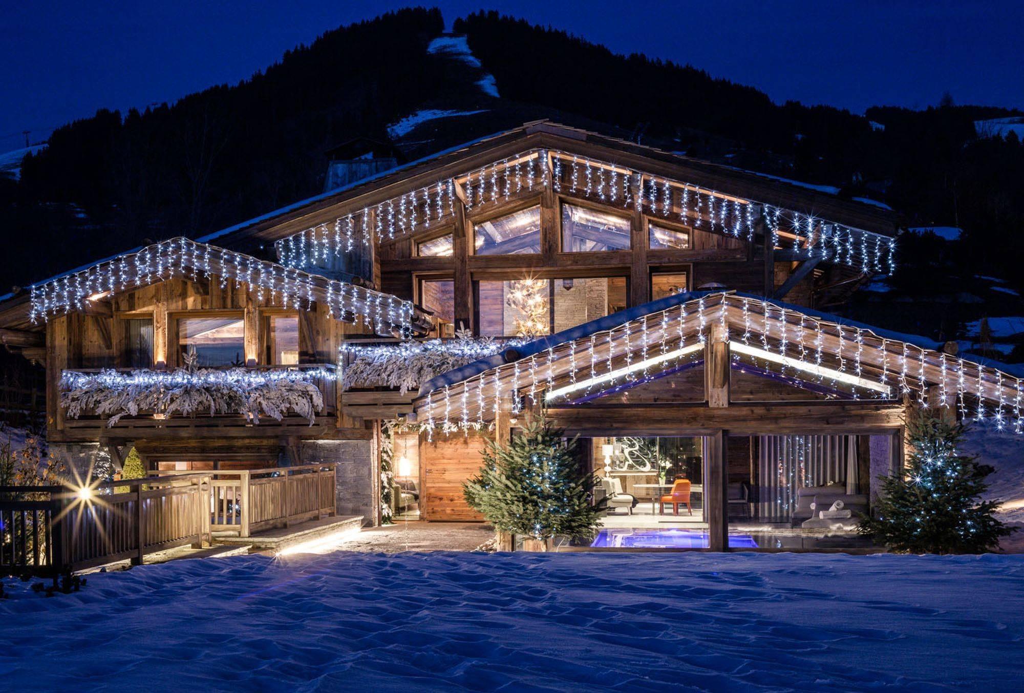 Lovelydays luxury service apartment rental - Megève - Senses Chalet - Partner - 6 bedrooms - 6 bathrooms - Exterior - 6a88774c1b29 - Lovelydays