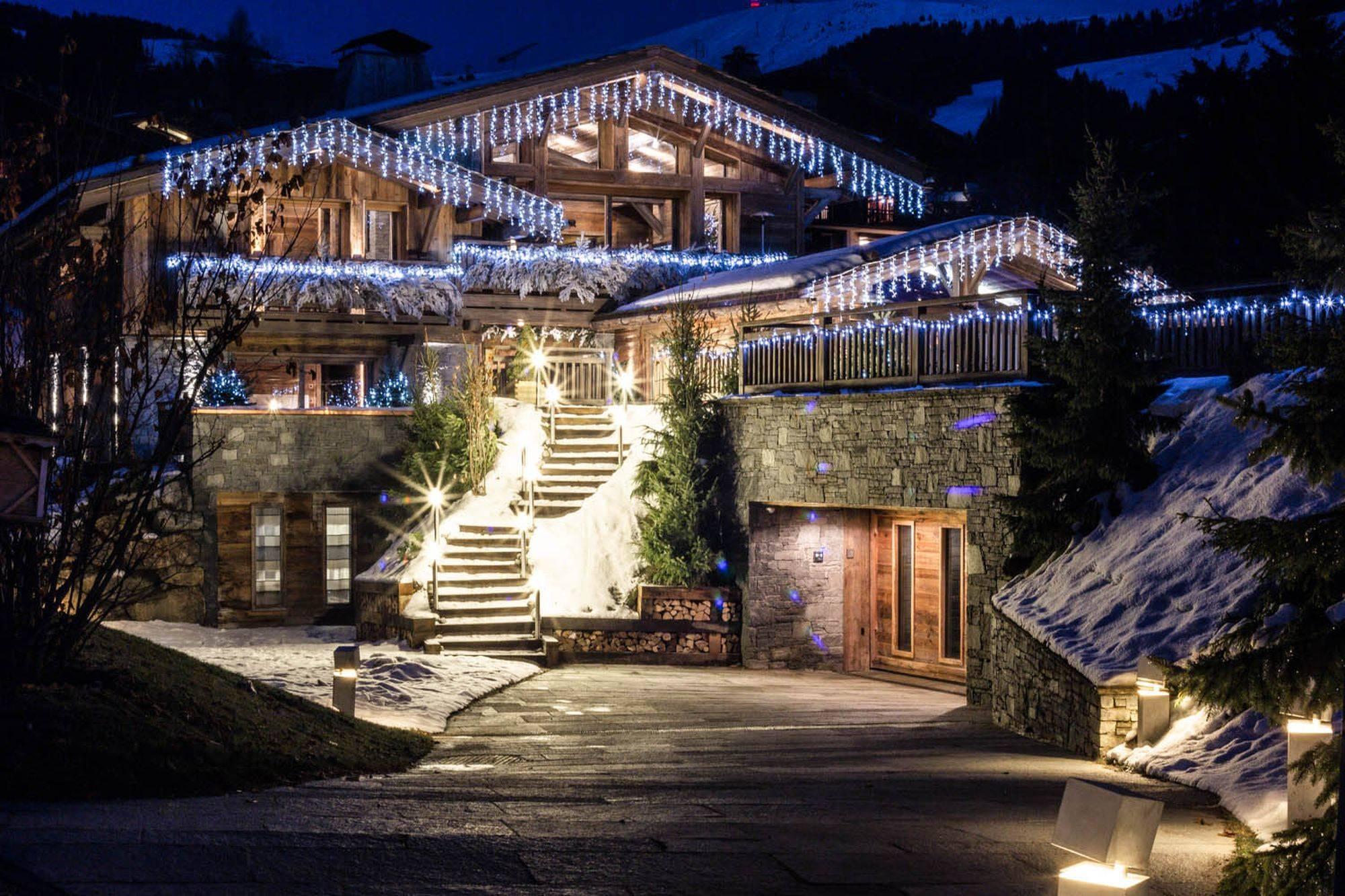 Lovelydays luxury service apartment rental - Megève - Senses Chalet - Partner - 6 bedrooms - 6 bathrooms - Exterior - 7612840e8159 - Lovelydays