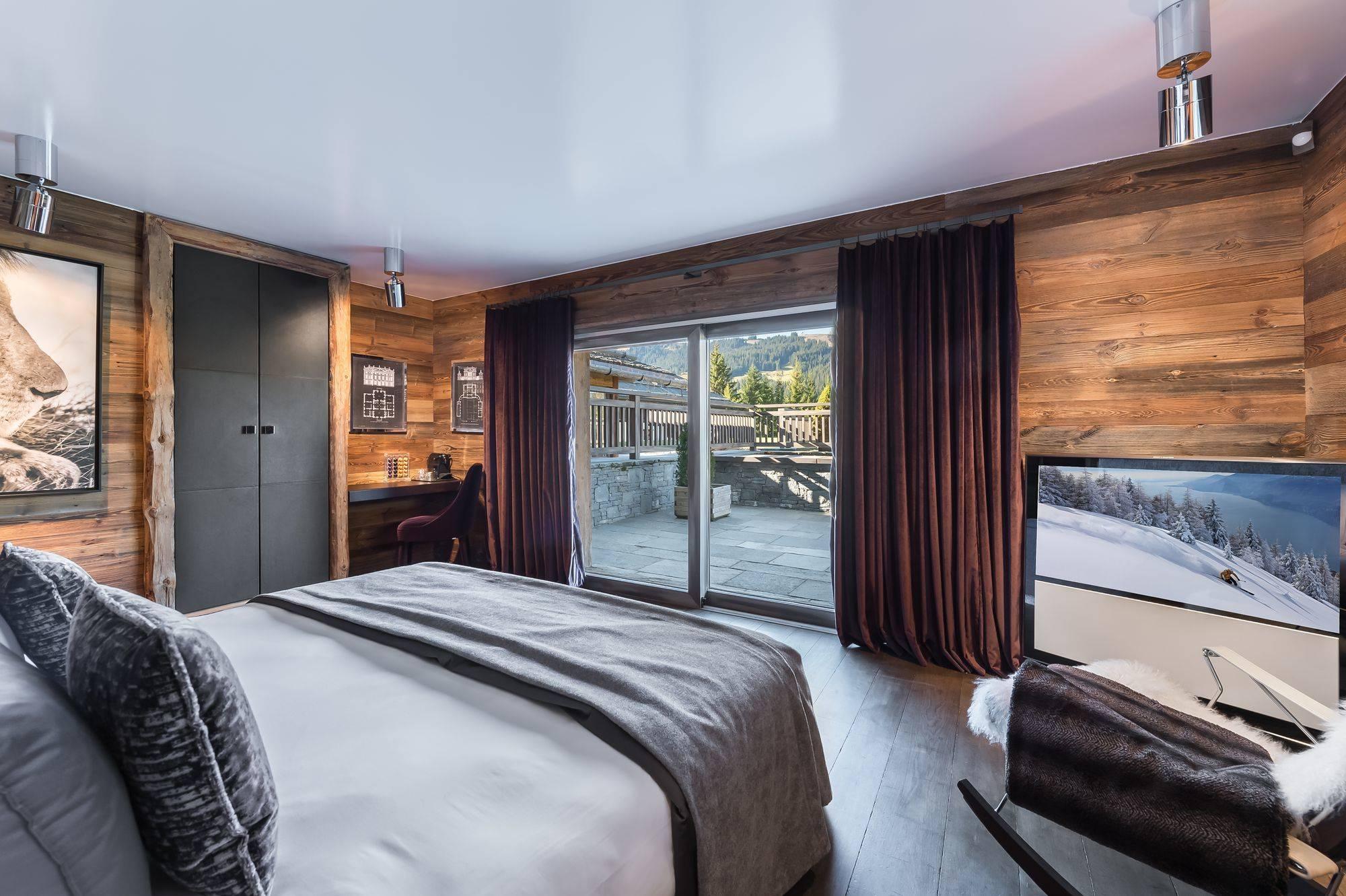 Lovelydays luxury service apartment rental - Megève - Senses Chalet - Partner - 6 bedrooms - 6 bathrooms - King bed - bd5b6c8b80e4 - Lovelydays