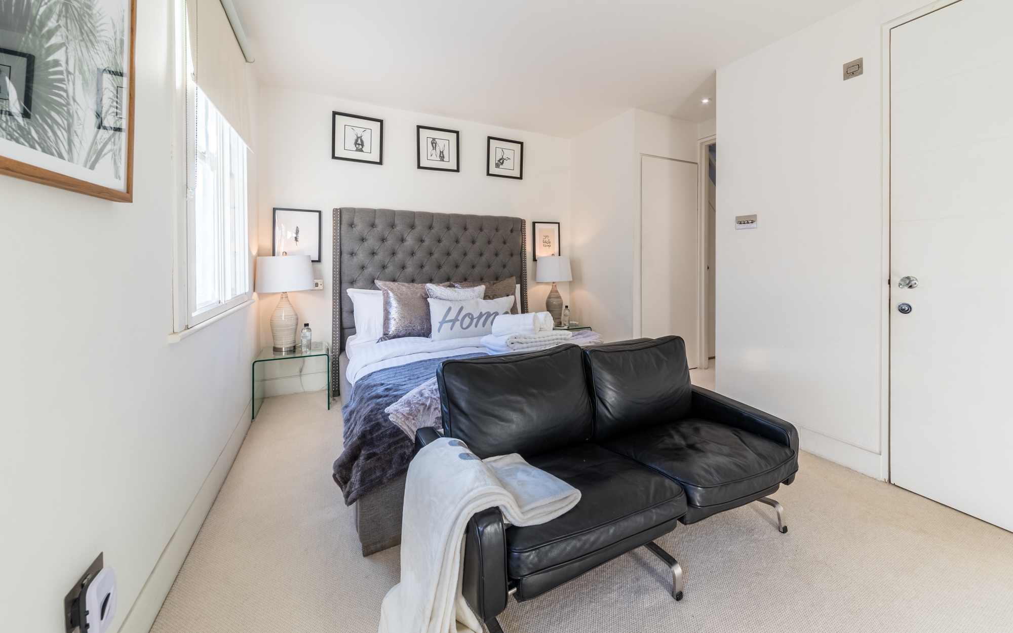 Lovelydays luxury service apartment rental - London - Fitzrovia - Foley Street II - Lovelysuite - 2 bedrooms - 2 bathrooms - Double bed - 687b992bb87d - Lovelydays