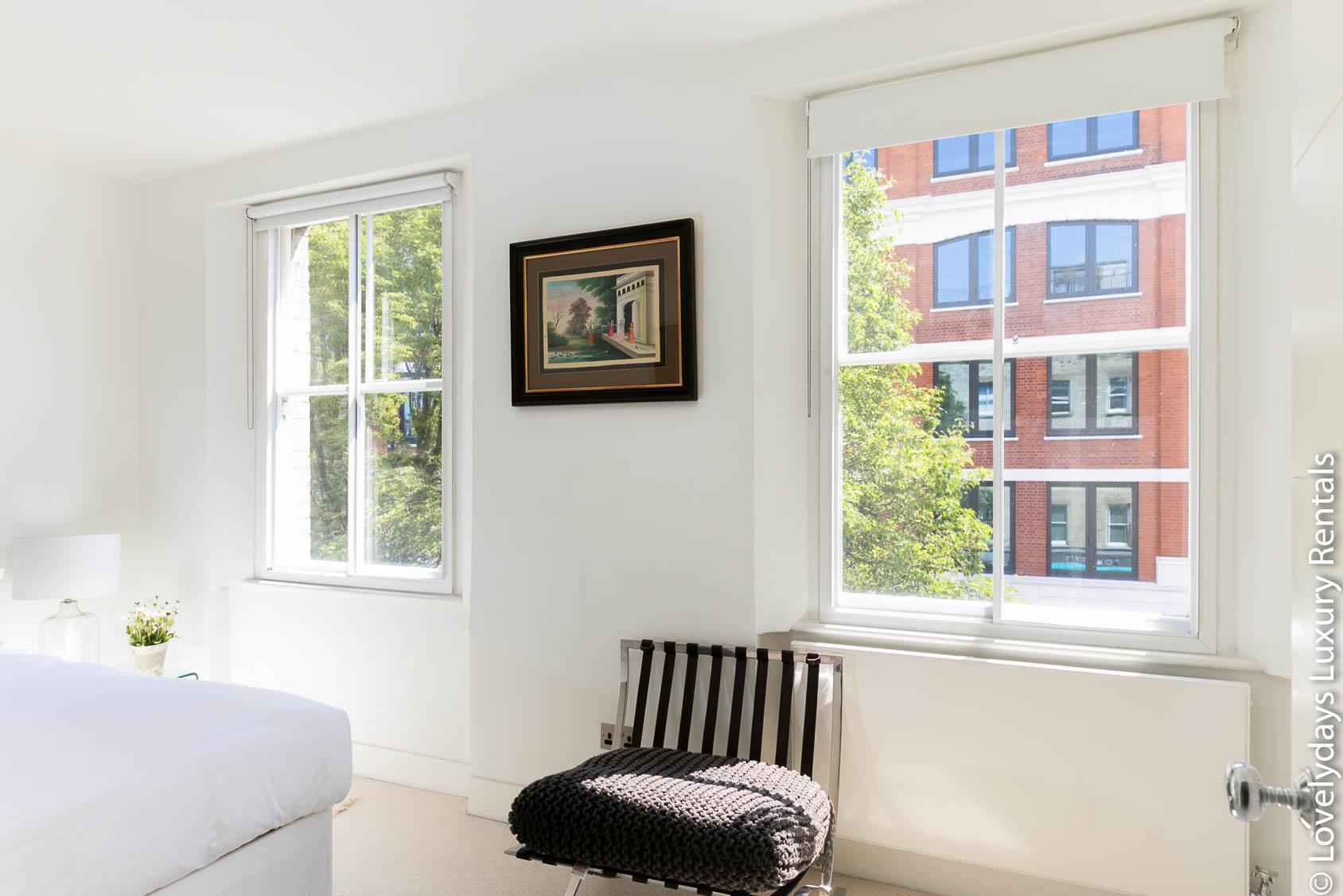 Lovelydays luxury service apartment rental - London - Fitzrovia - Foley Street - Lovelysuite - 2 bedrooms - 2 bathrooms - Lovely view - 116e4e3eb13c - Lovelydays
