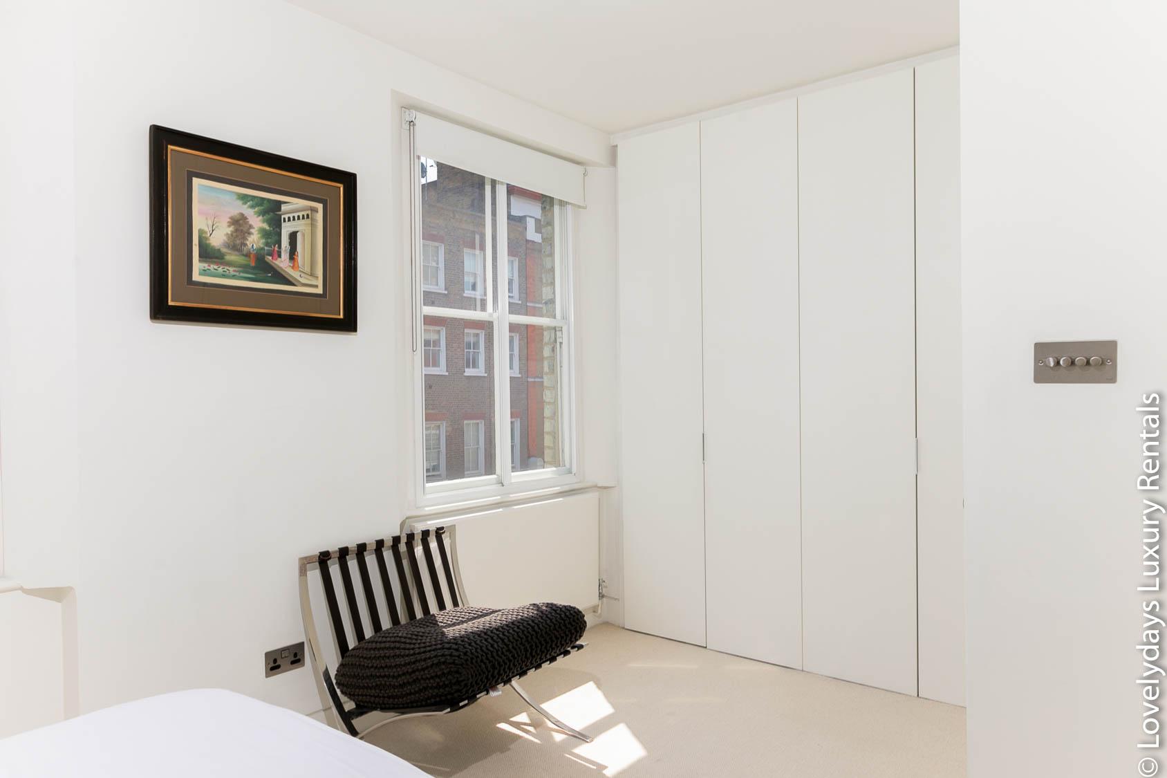 Lovelydays luxury service apartment rental - London - Fitzrovia - Foley Street - Lovelysuite - 2 bedrooms - 2 bathrooms - Double bed - 61f13e9d50b5 - Lovelydays
