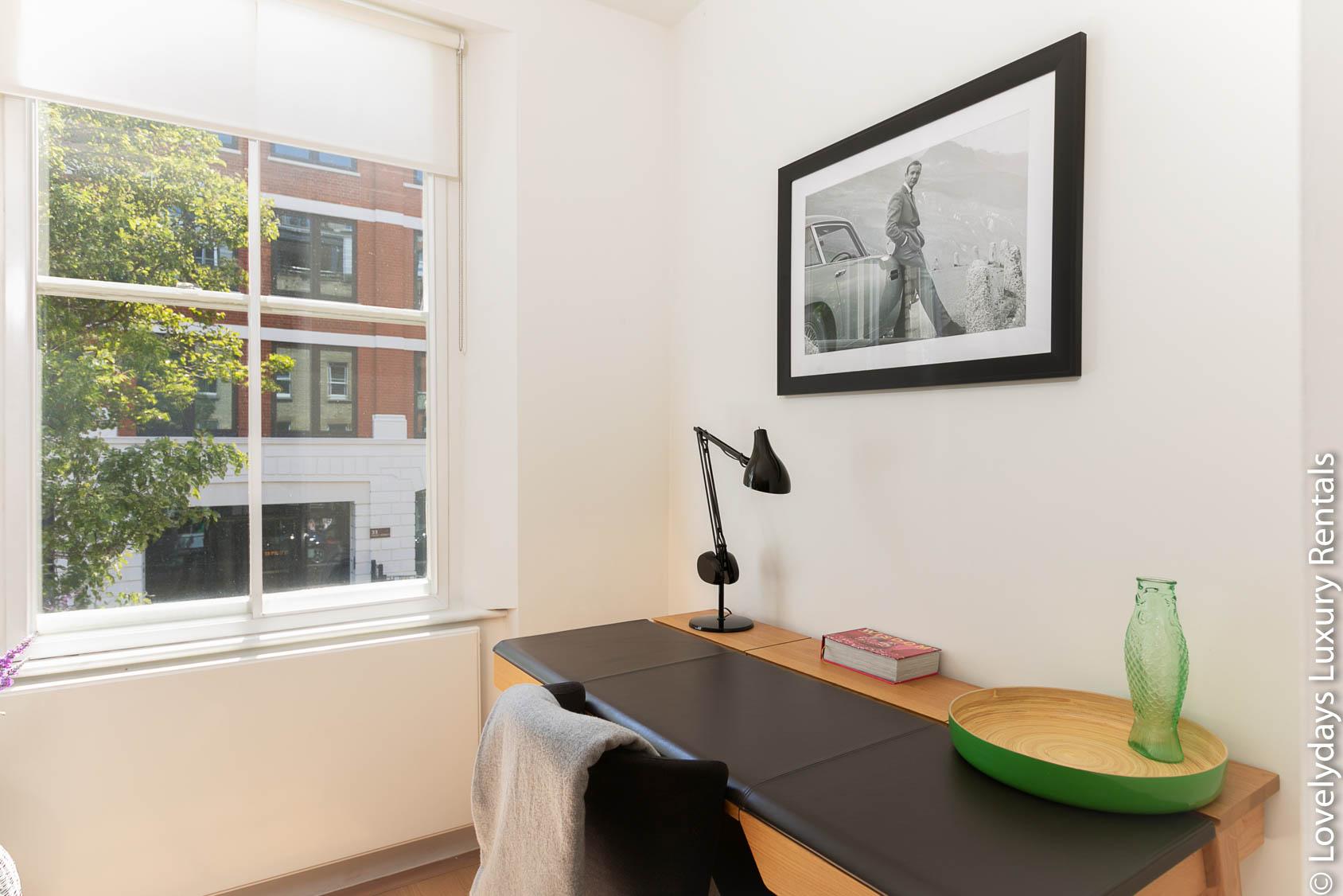 Lovelydays luxury service apartment rental - London - Fitzrovia - Foley Street - Lovelysuite - 2 bedrooms - 2 bathrooms - Working desk - 7278912e37db - Lovelydays