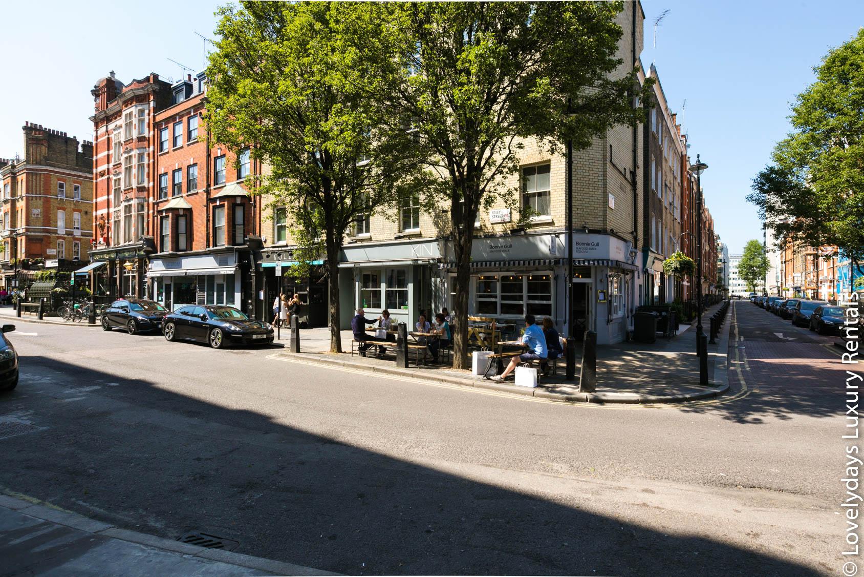 Lovelydays luxury service apartment rental - London - Fitzrovia - Foley Street - Lovelysuite - 2 bedrooms - 2 bathrooms - Exterior - exterior - 409b0870f18d - Lovelydays