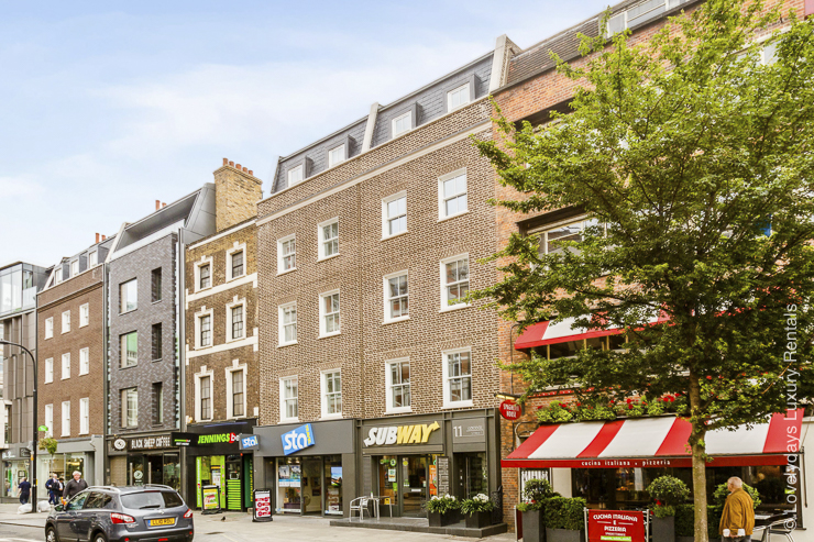 Lovelydays luxury service apartment rental - London - Fitzrovia - Goodge street - Lovelysuite - 2 bedrooms - 2 bathrooms - Hallway - 15abe4805848 - Lovelydays