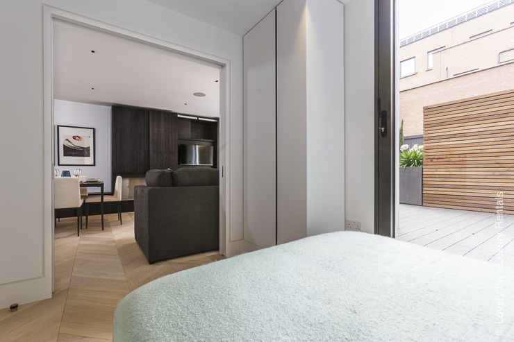 Lovelydays luxury service apartment rental - London - Fitzrovia - Goodge street - Lovelysuite - 2 bedrooms - 2 bathrooms - Luxury living room - ef76b9608b91 - Lovelydays