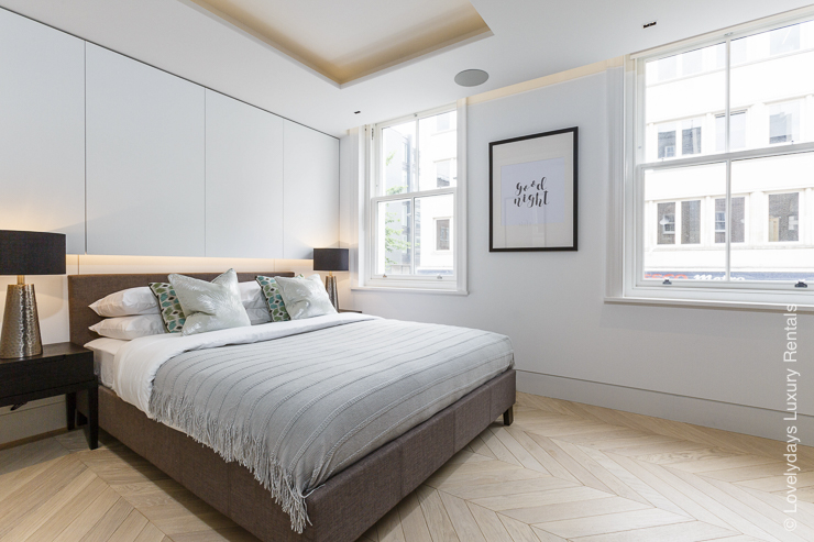Lovelydays luxury service apartment rental - London - Fitzrovia - Goodge street - Lovelysuite - 2 bedrooms - 2 bathrooms - King bed - fcd324fab550 - Lovelydays