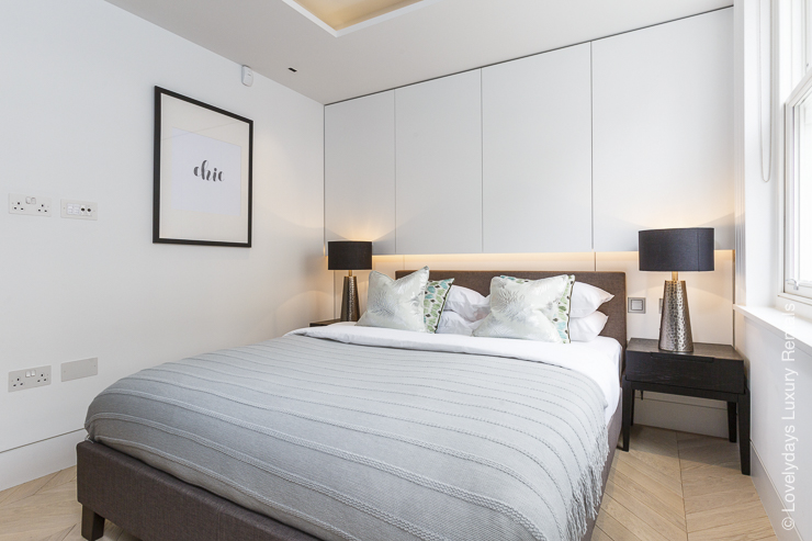 Lovelydays luxury service apartment rental - London - Fitzrovia - Goodge street - Lovelysuite - 2 bedrooms - 2 bathrooms - Double bed - d7f2e78b50c1 - Lovelydays