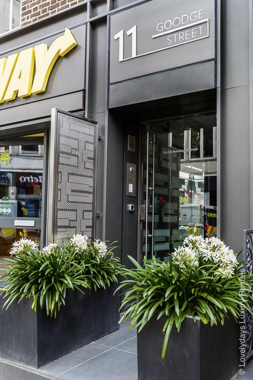 Lovelydays luxury service apartment rental - London - Fitzrovia - Goodge street II - Lovelysuite - 2 bedrooms - 2 bathrooms - Hallway - a00698cc2492 - Lovelydays