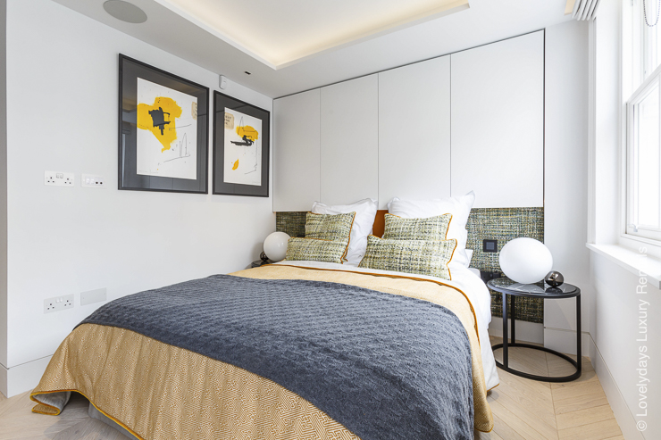 Lovelydays luxury service apartment rental - London - Fitzrovia - Goodge street II - Lovelysuite - 2 bedrooms - 2 bathrooms - Double bed - 1170e7bf7458 - Lovelydays