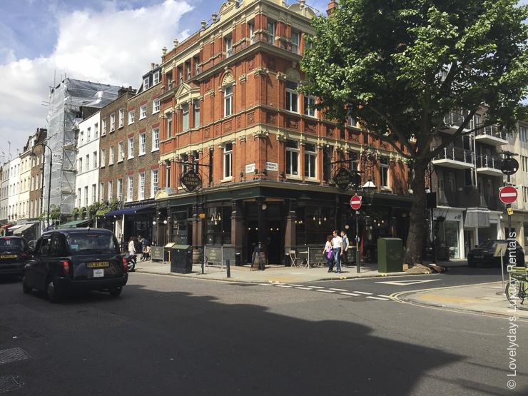 Lovelydays luxury service apartment rental - London - Fitzrovia - Goodge street III - Lovelysuite - 3 bedrooms - 2 bathrooms - Hallway - 9def5af669f7 - Lovelydays