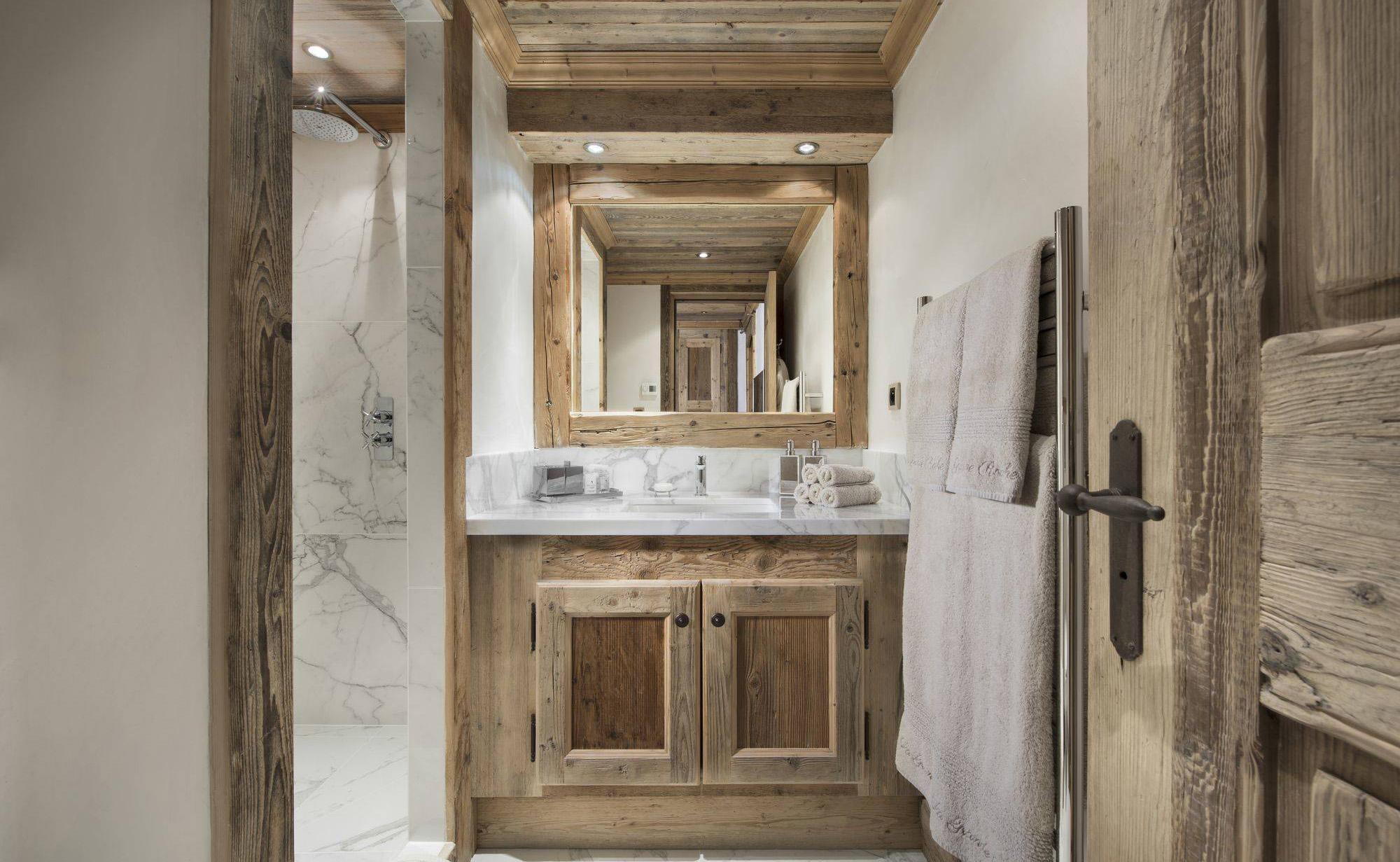Lovelydays luxury service apartment rental - Courchevel - Great Roc Chalet - Partner - 7 bedrooms - 6 bathrooms - Lovely shower - afcbb8aa6c9e - Lovelydays