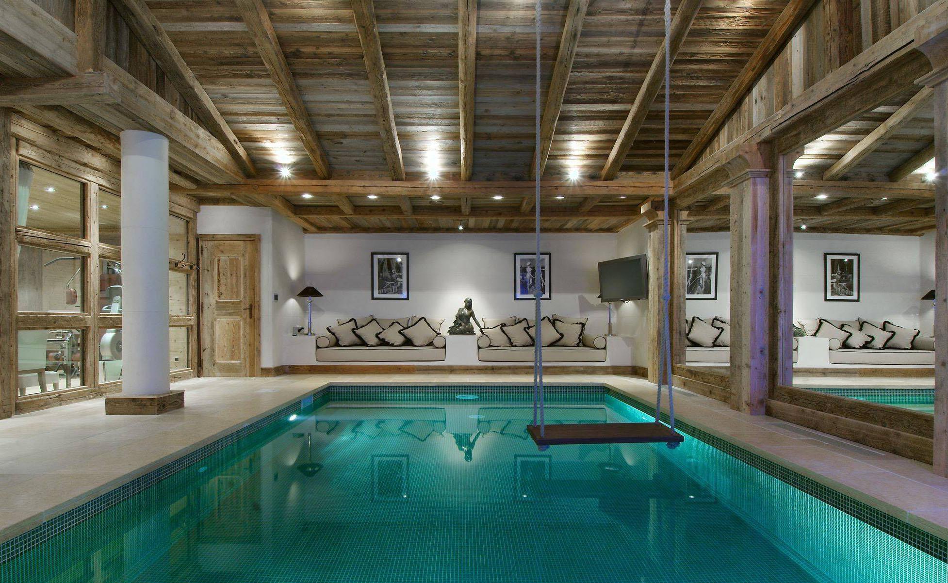 Lovelydays luxury service apartment rental - Courchevel - Great Roc Chalet - Partner - 7 bedrooms - 6 bathrooms - Inside pool - 3b29eb185fec - Lovelydays