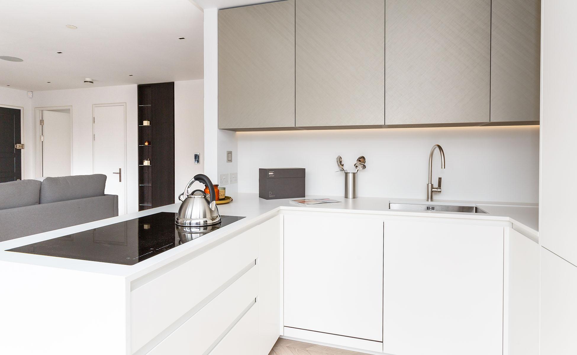 Lovelydays luxury service apartment rental - London - Fitzrovia - Newman Street IV - Lovelysuite - 2 bedrooms - 2 bathrooms - Luxury kitchen - rent luxury apartment london - 7d48a51660c2 - Lovelydays