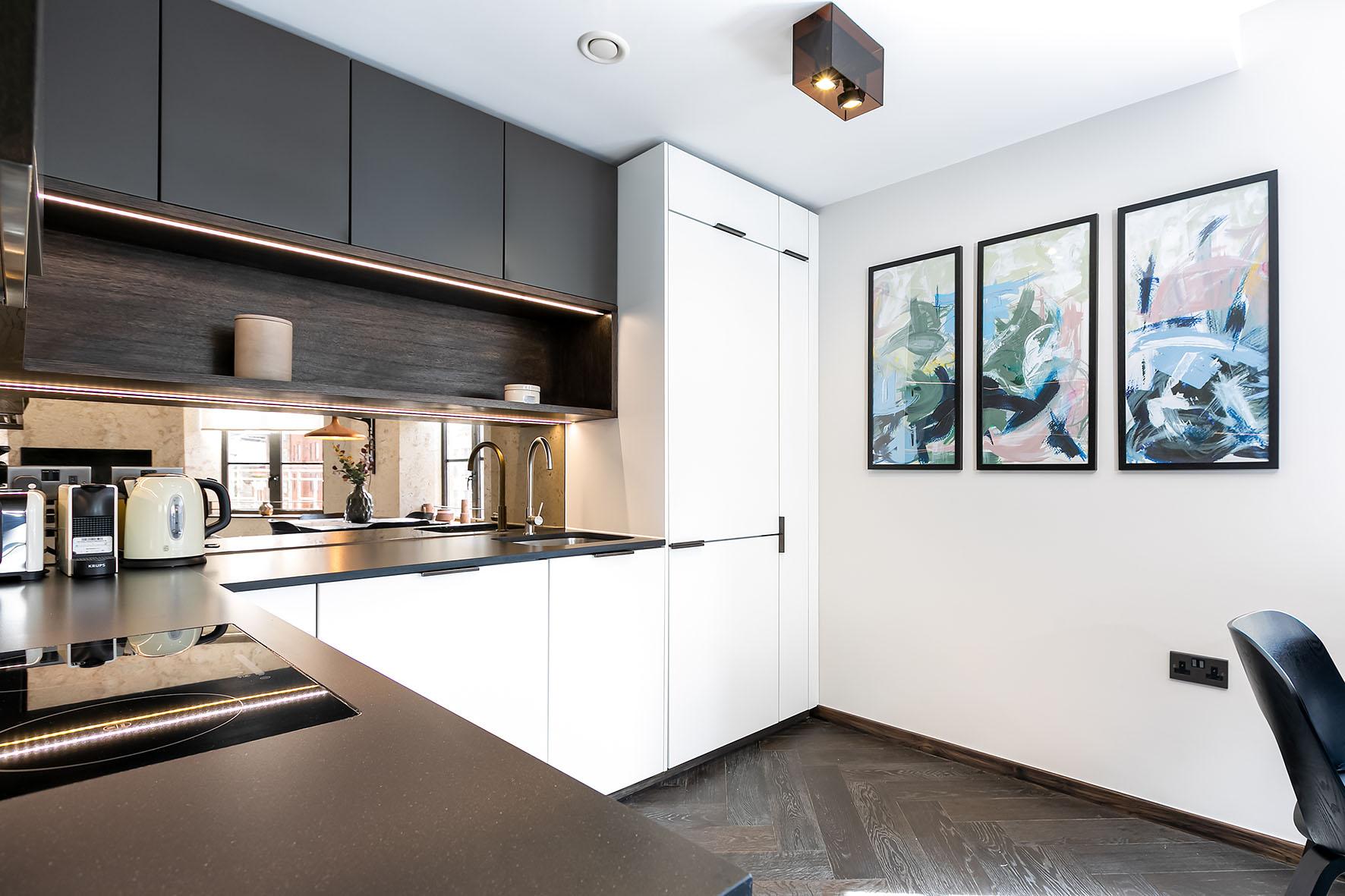 Lovelydays luxury service apartment rental - London - Soho - Noel Street VI - Lovelysuite - 2 bedrooms - 2 bathrooms - Luxury kitchen - luxury apartment in london - 85955949f678 - Lovelydays