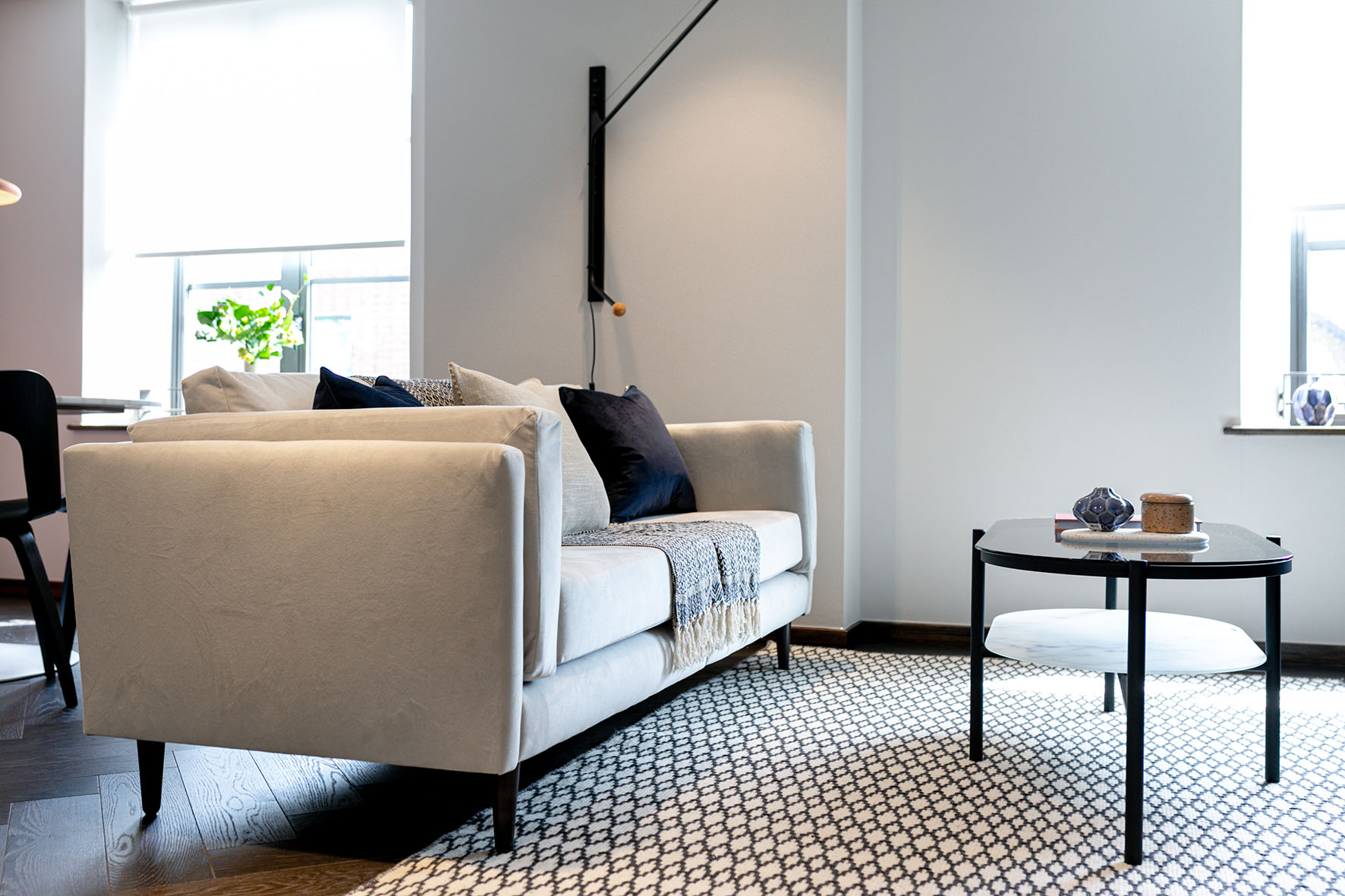 Lovelydays luxury service apartment rental - London - Soho - Noel Street VII - Lovelysuite - 1 bedrooms - 1 bathrooms - Comfortable sofa - 47ffd8421687 - Lovelydays