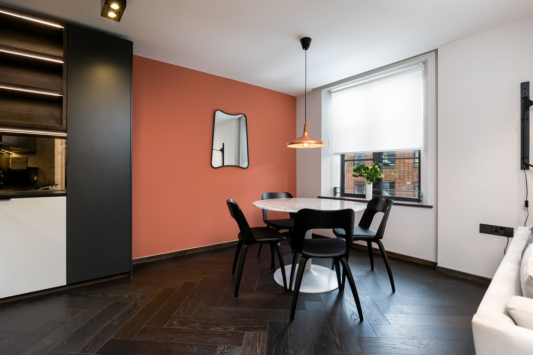 Lovelydays luxury service apartment rental - London - Soho - Noel Street VII - Lovelysuite - 1 bedrooms - 1 bathrooms - Luxury living room - f69cee95ad88 - Lovelydays