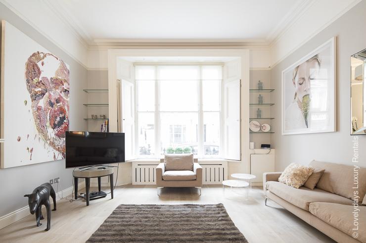 Lovelydays luxury service apartment rental - London - Notting Hill - Clanricarde II - Lovelysuite - 2 bedrooms - 2 bathrooms - Luxury living room - ddd64f759c85 - Lovelydays