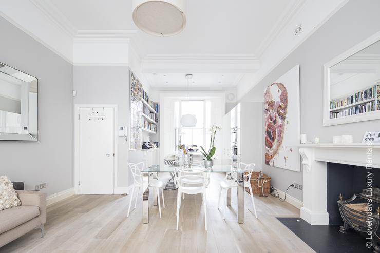 Lovelydays luxury service apartment rental - London - Notting Hill - Clanricarde II - Lovelysuite - 2 bedrooms - 2 bathrooms - Luxury living room - a81b0e06a337 - Lovelydays