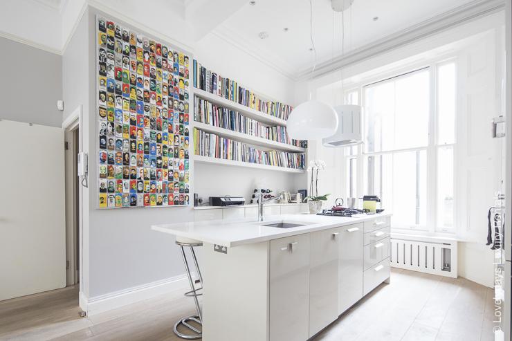 Lovelydays luxury service apartment rental - London - Notting Hill - Clanricarde II - Lovelysuite - 2 bedrooms - 2 bathrooms - Luxury living room - 3ad4c11c94b4 - Lovelydays