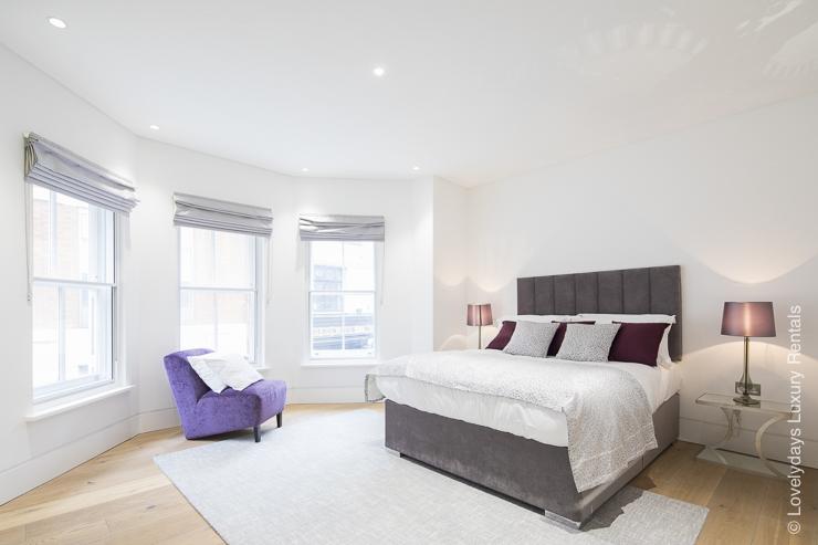 Lovelydays luxury service apartment rental - London - Soho - Romilly Street - Lovelysuite - 2 bedrooms - 2 bathrooms - King bed - f3e1d7e4f525 - Lovelydays
