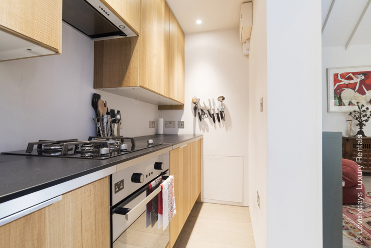 Lovelydays luxury service apartment rental - London - Notting Hill - Monmouth Place - Lovelysuite - 1 bedrooms - 1 bathrooms - Luxury kitchen - c93ce1ea2f31 - Lovelydays
