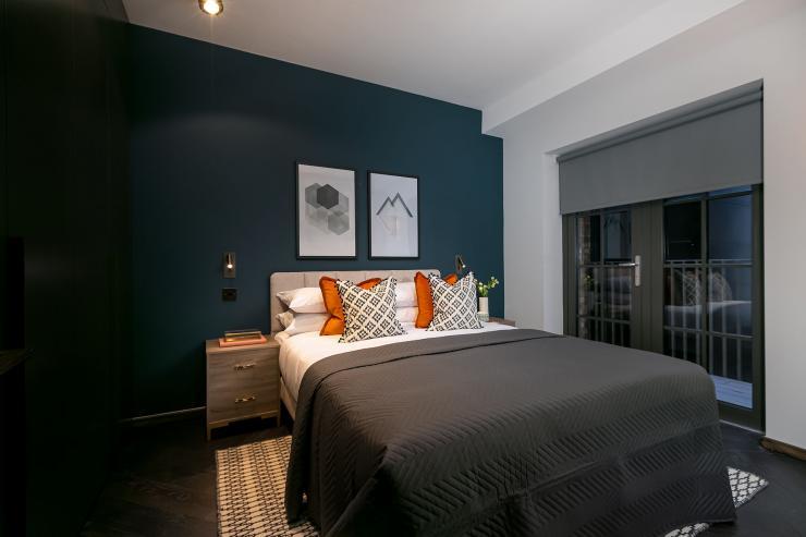 Lovelydays luxury service apartment rental - London - Soho - Berwick Street III - Lovelysuite - 1 bedrooms - 1 bathrooms - Queen bed - c2c8a6b9da70 - Lovelydays