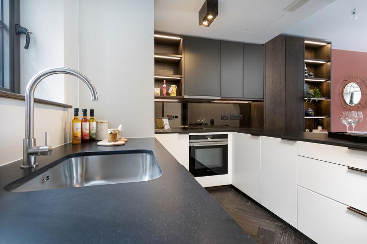 Lovelydays luxury service apartment rental - London - Soho - Berwick Street III - Lovelysuite - 1 bedrooms - 1 bathrooms - Luxury kitchen - 1960e8598a7d - Lovelydays