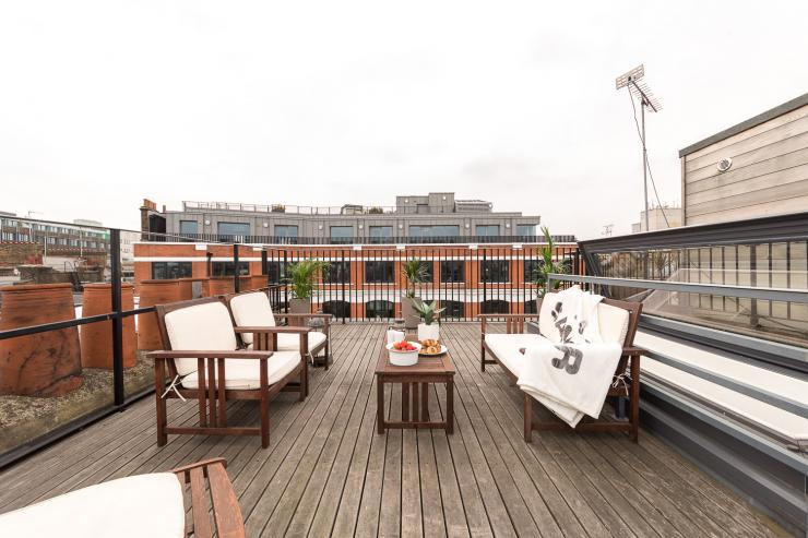 Lovelydays luxury service apartment rental - London - Fitzrovia - Foley Street II - Lovelysuite - 2 bedrooms - 2 bathrooms - Roof top central London - fb73bb99de3b - Lovelydays