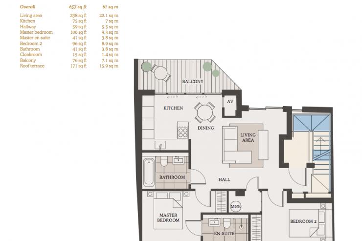 Lovelydays luxury service apartment rental - London - Fitzrovia - Goodge street IV - Lovelysuite - 2 bedrooms - 2 bathrooms - Hallway - 218de58ee991 - Lovelydays