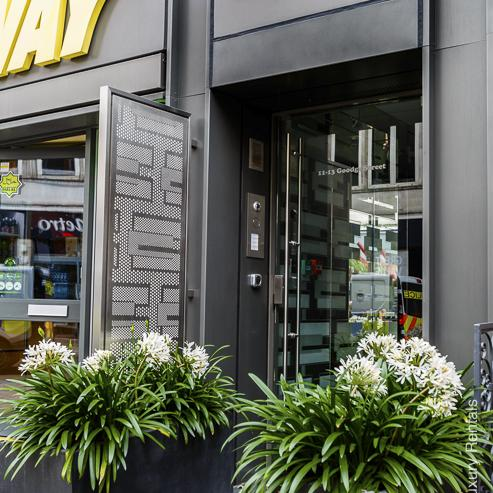 Lovelydays luxury service apartment rental - London - Fitzrovia - Goodge street IV - Lovelysuite - 2 bedrooms - 2 bathrooms - Hallway - 5fefa4bad797 - Lovelydays