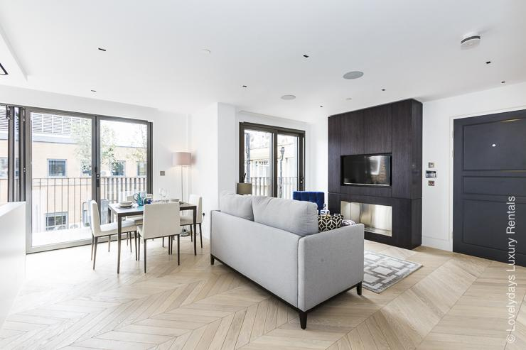 Lovelydays luxury service apartment rental - London - Fitzrovia - Goodge street IV - Lovelysuite - 2 bedrooms - 2 bathrooms - Luxury kitchen - 7756062107dd - Lovelydays