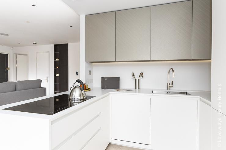 Lovelydays luxury service apartment rental - London - Fitzrovia - Goodge street IV - Lovelysuite - 2 bedrooms - 2 bathrooms - Luxury kitchen - 9f0b98fbd5f0 - Lovelydays